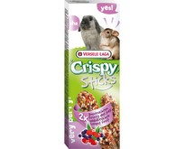 Crispy Sticks Konijn & Chinchilla Bosvruchten