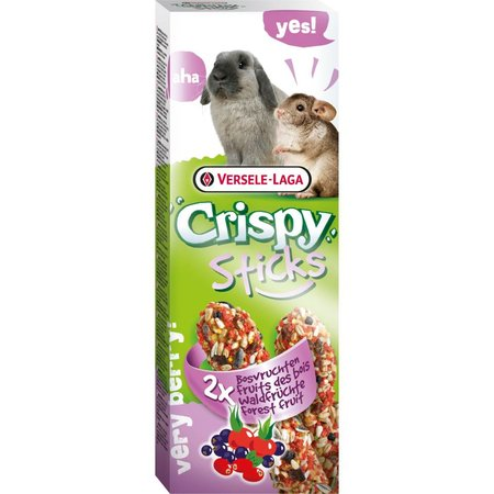Versele-Laga Knusprige Sticks Kaninchen & Chinchilla Waldfrüchte
