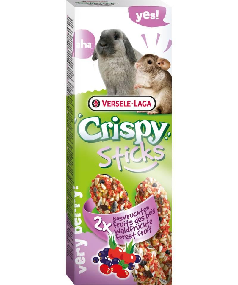 Versele-Laga Crispy Sticks Konijn & Chinchilla Bosvruchten