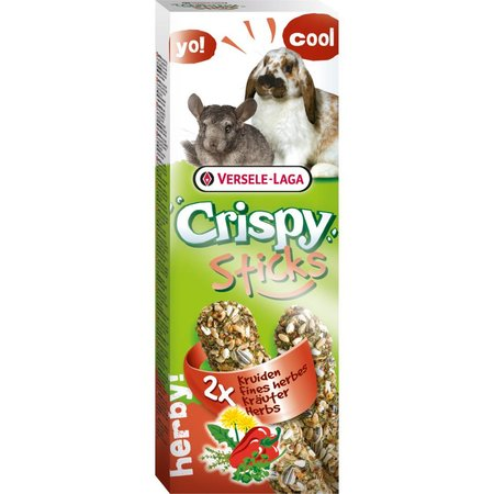 Versele-Laga Crispy Sticks Konijn & Chinchilla Kruiden