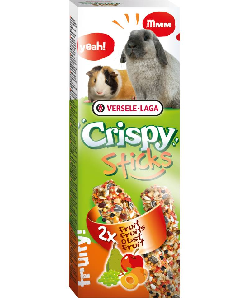 Versele-Laga Crispy Sticks Cavia & Konijn Fruit
