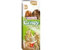 Knusprige Sticks Popcorn & Nüsse