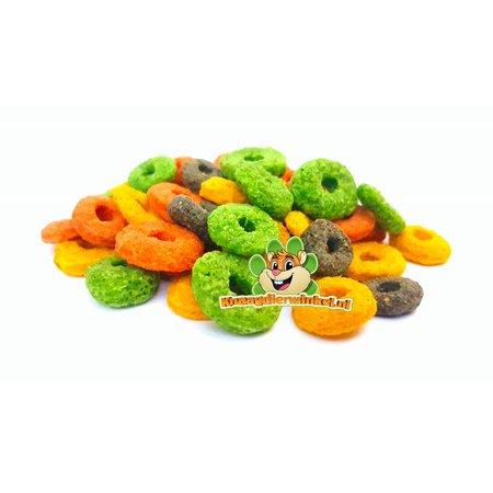Knaagdierwinkel® Rodent Rounds Carrot & Sea Buckthorn juice 150 gram