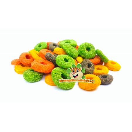 Knaagdierwinkel.nl Rodent Rounds Carrot & Sea Buckthorn juice 150 grams