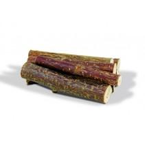 Knabbern Holz Haselnuss
