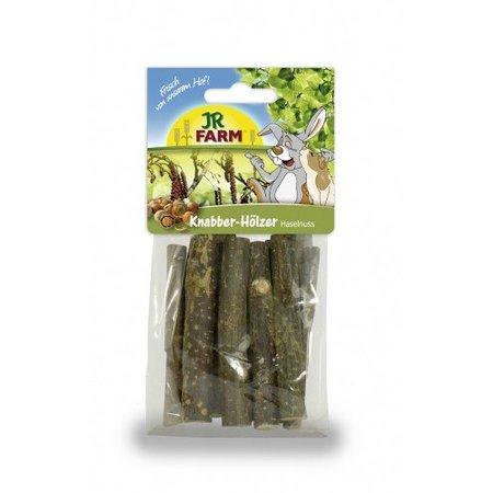 JR Farm Nibble Holz Haselnuss