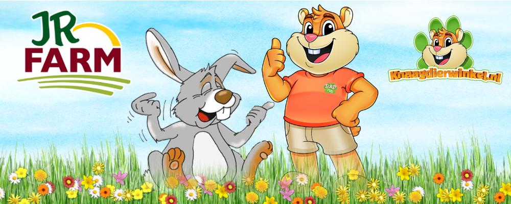 JR Farm voor knaagdieren en konijnen bij drd knaagdierwinkel