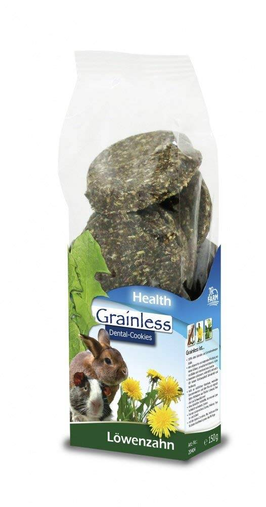 JR Farm Grainless HEALTH Dental Cookies Dandelion 150 grams