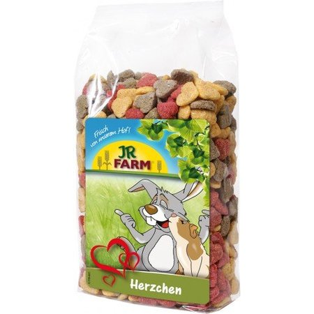 JR Farm Hearts Alfalfa & Beetroot 200 grams
