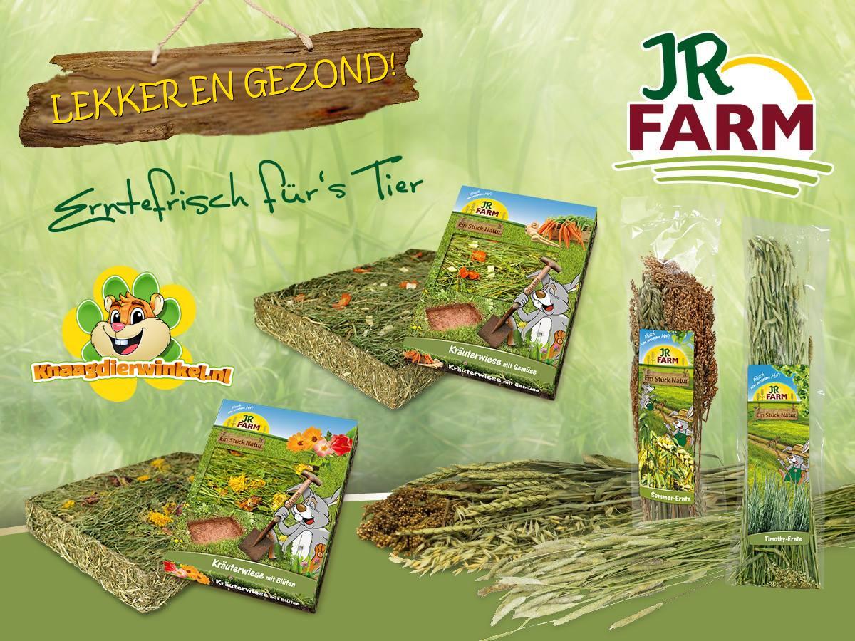 JR Farm oogst en weiland