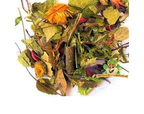Chinchilla Hay, Kräuter und Samen