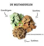 Knaagdierwinkel® Baumwolle & Pappe 30 Liter Bodendecker
