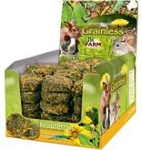 JR Farm Grainless Kruiden Rollen Paardenbloem & Zonnebloem 70 gram