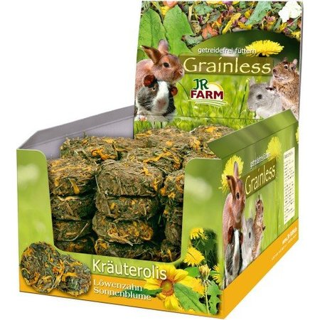JR Farm Grainless Herbal Rolls Dandelion & Sunflower 70 grams