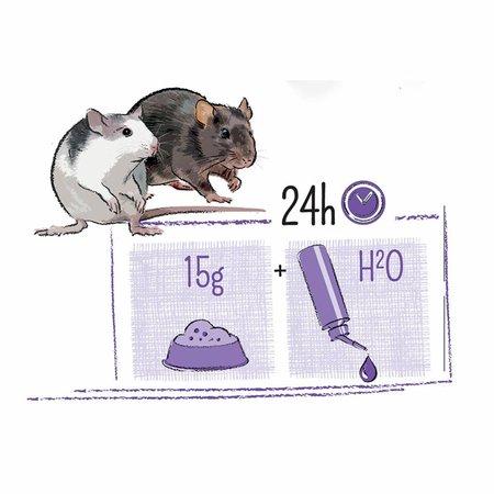 Witte Molen PUUR Rat 800 gram