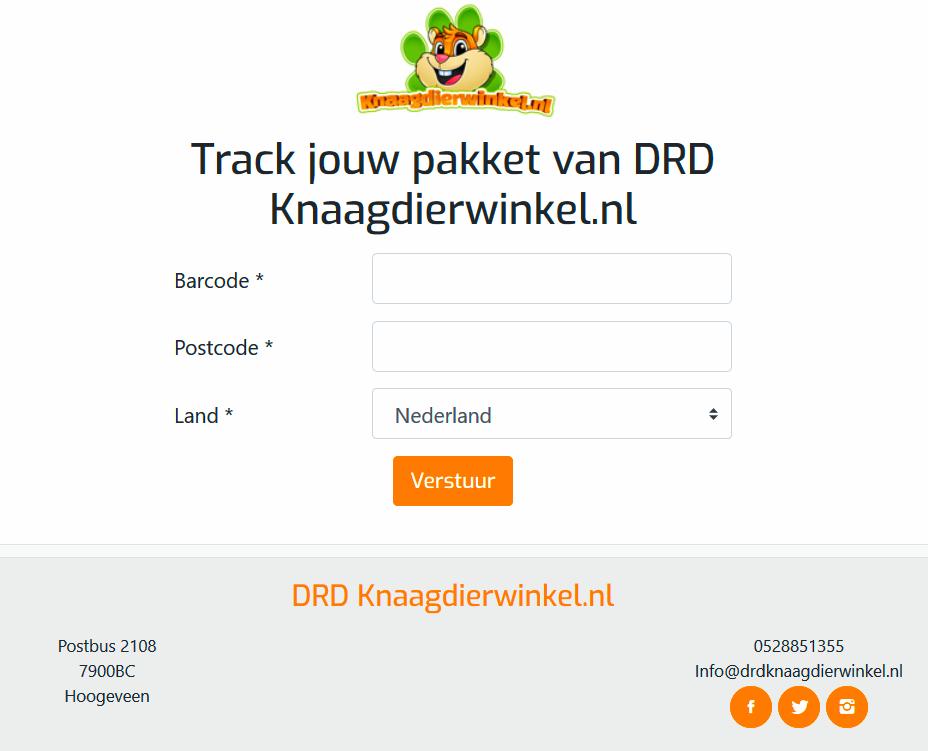 drdknaagdierwinkel post nl