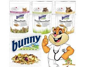 bunny nature droom expert voer voor knaagdieren zoals muis, dwerghamster, hamster, gerbil, rat, cavia, konijn, chinchilla en degoe