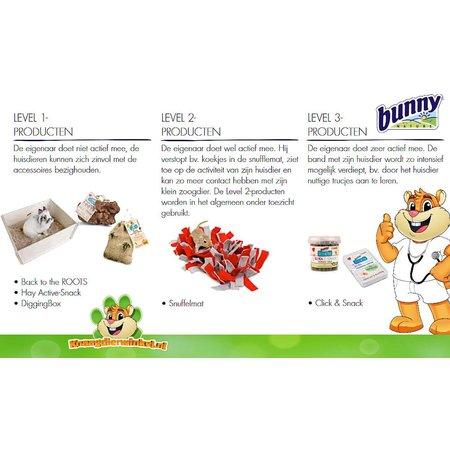 Bunny Nature Crispy Snack Rode Biet 50 gram