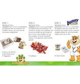 Bunny Nature Crispy Snack Groenten 50 gram