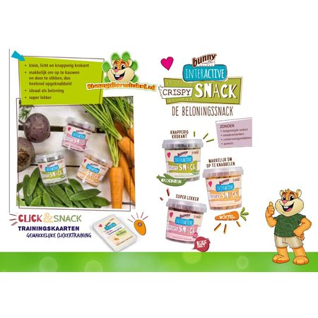 Bunny Nature Knusprige Snack-Karotte 25 Gramm