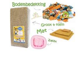 Bodembedekking & Nestmateriaal