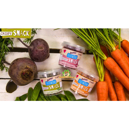 Bunny Nature Crunchy snack carrot 25 grams