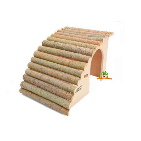 Elmato Angled Rodent Villa with Willow Roof 29.5 cm