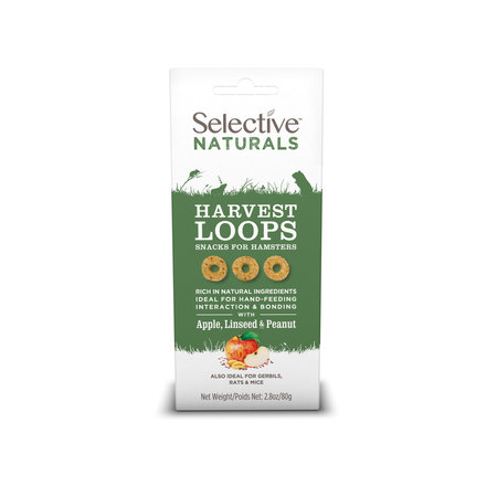 Supreme Selective Harvest Loops with Apple, Flaxseed and Nut Hamster