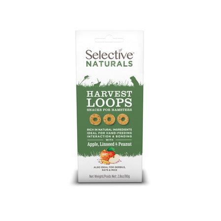 Supreme Selective Naturals Harvest Loops met Appel, Lijnzaad en Noten Hamster