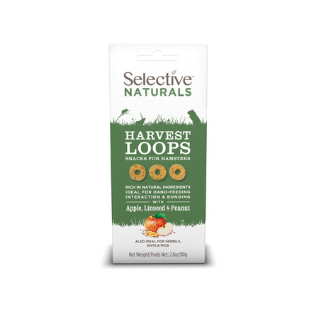 Supreme Selective Naturals Harvest Loops with Apple, Linseed and Nut Hamster