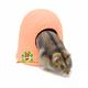 Elmato Terracotta Dwarf Hamster Igloo