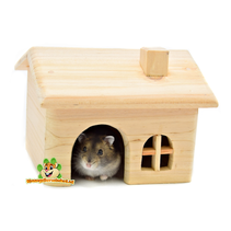 Wooden House Blank 15 cm