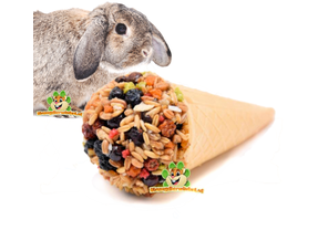 Kaninchen Snacks Kekse & Sticks