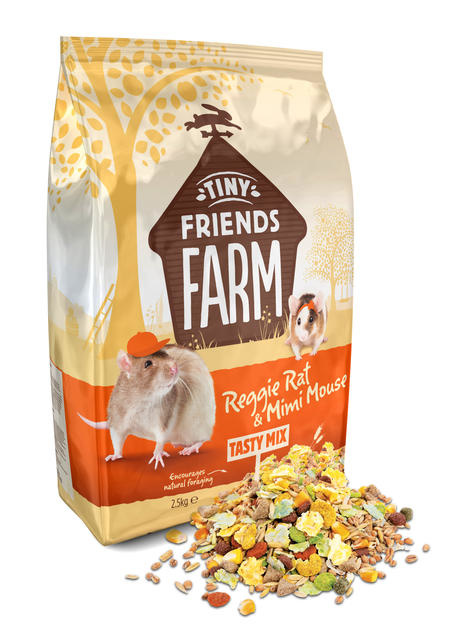 Supreme Reggie Rat & Mimi Mouse Tasty Mix 850 gram