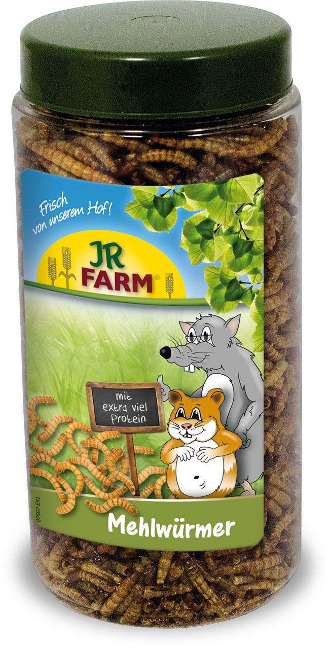 JR Farm Getrocknete Mehlwürmer 70 Gramm