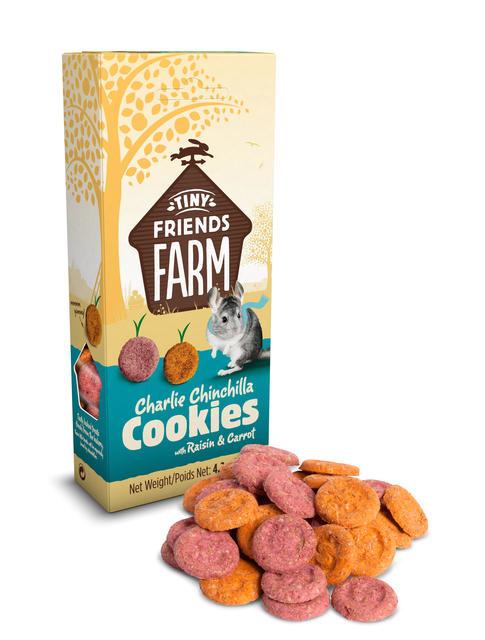 Supreme Charlie Chinchilla Cookies Raisin & Carrot 120 gram