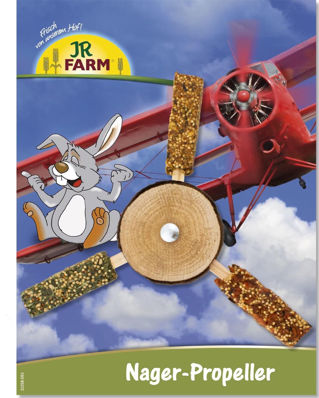 JR Farm Nagetier Snack Propeller 28 cm
