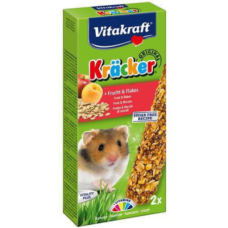 Vitakraft Vitakraft Hamster Kracker Fruits & Flakes