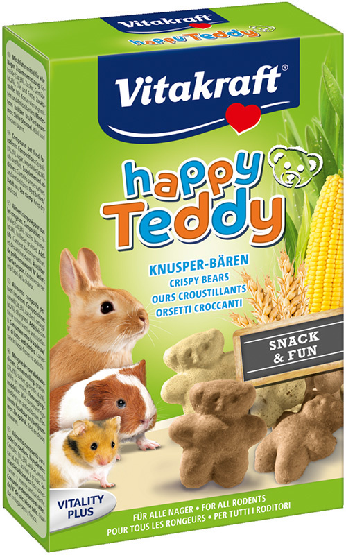 Vitakraft Happy Teddy Knaagdieren & Konijnen