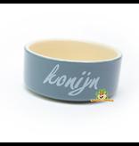 Rabbit Food Bowl Stone 12 cm