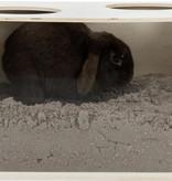 Trixie Trixie Houten Graafbak Konijn Blank  58 cm