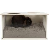 Trixie Trixie Rabbit Holzeimer 58 cm
