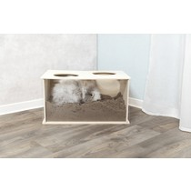 Trixie Rabbit wooden bucket 58 cm