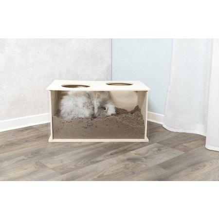Trixie Trixie Rabbit wooden bucket 58 cm