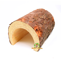 Wooden Tree Bark Tunnel 25 cm