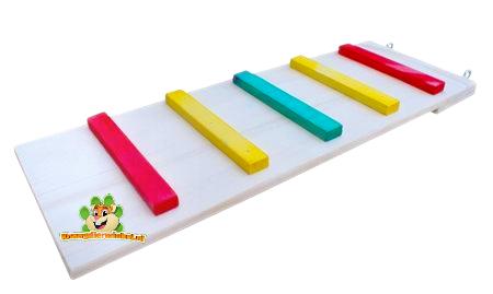DRD Knaagdierwinkel® Houten Trap Colour 50 cm