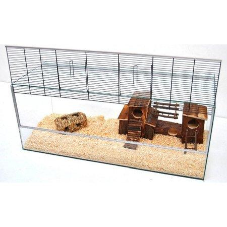 Nagetier-Terrarium mit Riegeln