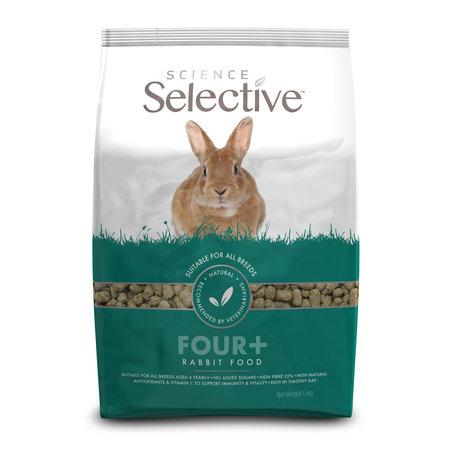 Supreme Selective Rabbit Mature 4+ Rabbit Food