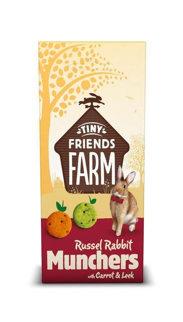 Supreme Russel Rabbit Munchers Karotte & Lauch 120 Gramm