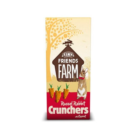 Supreme Russel Kaninchen Karotte Crunchers 120 Gramm